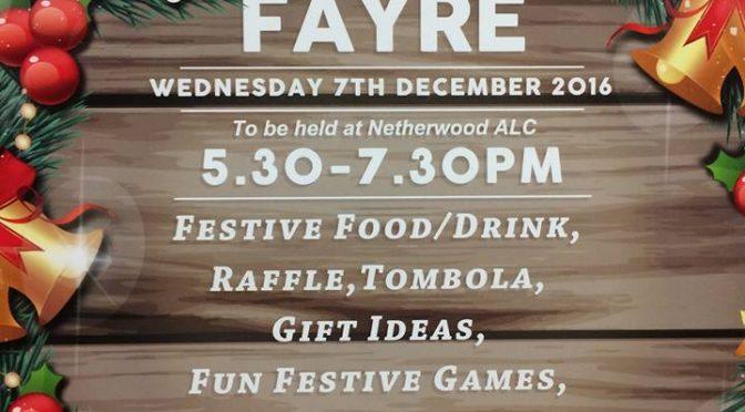 Netherwood Christmas Fayre